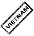VIETNAM rubber stamp vector image