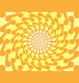 abstract fantasy spiral rays of the sun vector image