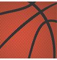 basketball texture vector image vector image