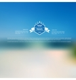Blurred landscape background Travel concept vector image