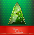Christmas decorative wallpaper vector image vector image