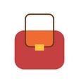 handbag clothing store poster vector image