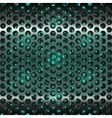 Mesh metal grate as background Grill vector image vector image