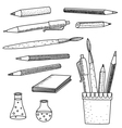 School Supplies vector image vector image