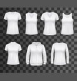 women white tank top t-shirts sportswear mockups vector image