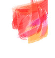 abstract watercolor brush stroke background vector image