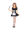 Housemaid vector image vector image