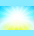 nature landscape of blue sky vector image