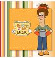best mom vector image vector image