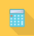 calculator icon set of great flat icons with vector image vector image
