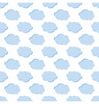 clouds weather seamless pattern background vector image vector image