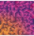 geometric poligonal background vector image vector image