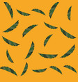 green leaves floral foliage background vector image vector image