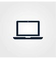 Laptop icon simple vector image