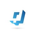 Letter Q logo icon design template elements vector image