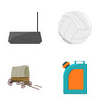 sport travel trip and other web icon in cartoon vector image vector image