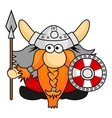 Viking Cartoon vector image