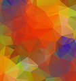 Abstract colorful Geometric Background for Design vector image vector image