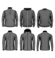 collection men clothes vector image vector image