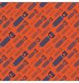 H-Bobms seamless pattern vector image vector image