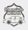 industry automotive auto service vector image vector image