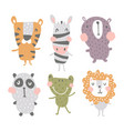nursery characters vector image vector image