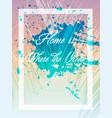 summer graphic design tee artwork vector image vector image