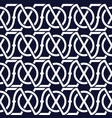 abstract seamless pattern with celtic knot vector image vector image