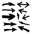 Black directional arrows