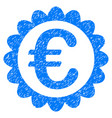 euro quality grunge icon vector image vector image