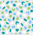 simple small scale shapes abstract pattern vector image