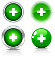Switzerland buttons vector image vector image