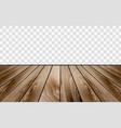 wooden floor texture vector image vector image
