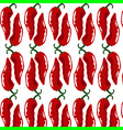 hot chili pattern vector image