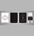 art deco wedding save date invitation card vector image vector image