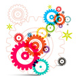 Cogs - Gears - Wheals vector image vector image