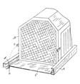 device radiator vintage vector image vector image