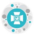 of cinema symbol on studio vector image vector image