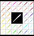 pen sign felt-pen 33 vector image vector image