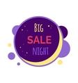 Sale Sticker in Flat Design vector image vector image