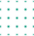 sun icon pattern seamless white background vector image vector image