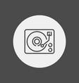vinyl icon sign symbol vector image vector image