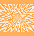 abstract orange geometric design background vector image vector image