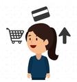 businessperson avatar design vector image