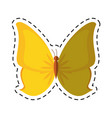 cartoon butterfly animal insect fly vector image vector image