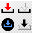 download eps icon with contour version vector image vector image