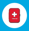 first aid kit for car vector image vector image