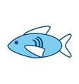 Fish cartoon isolated