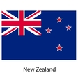 Flag of the country new zeland vector image vector image