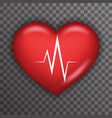 Heart Beat Rate Pulse Realistic 3d Healthcare